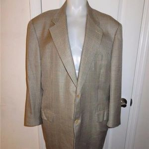 CANALI TAN,BLACK,BROWN  SPORT JACKET 58/48